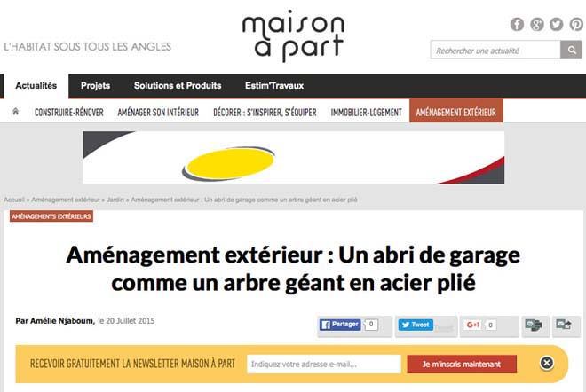 article de maison à part